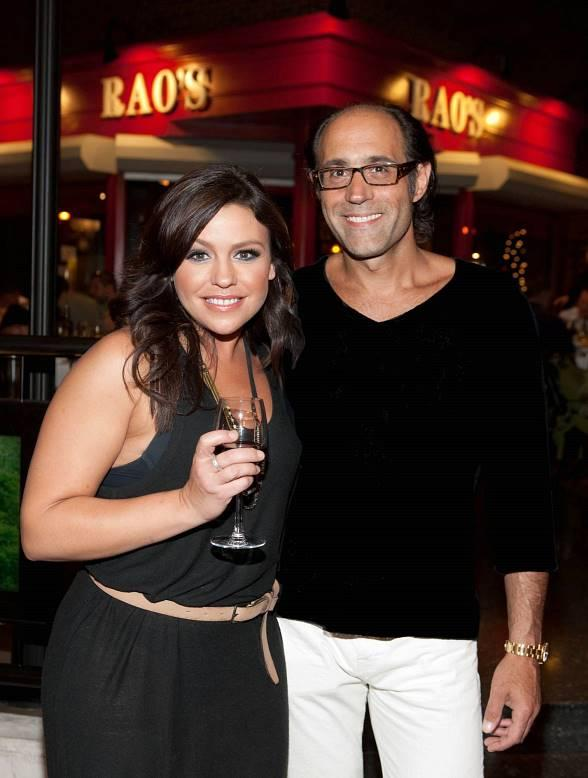 Rachael Ray with Frank Pellegrino, Jr.