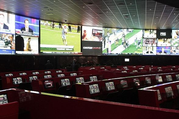 Race and Sports Book at The Venetian