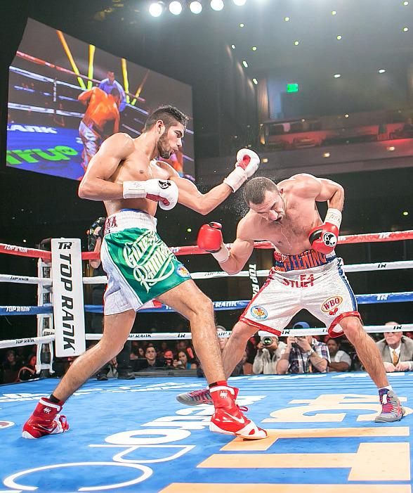 Super Middleweight Gilberto 'Zurdo' Ramirez defeats Gevorg Khatchikian at The Cosmopolitan of Las Vegas