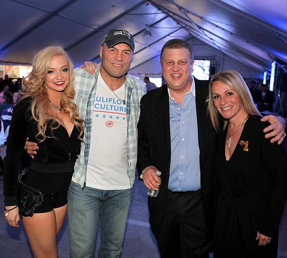 Mindy Robinson, Randy Couture, Derek Stevens and Nicole Parthum