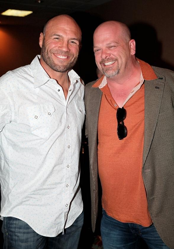 Randy Couture and Rick Harrison