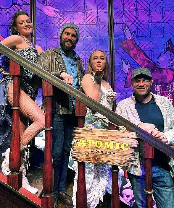 "Randy Couture Attends ""Atomic Saloon Show"" at the Grand Canal Shoppes inside The Venetian Resort"