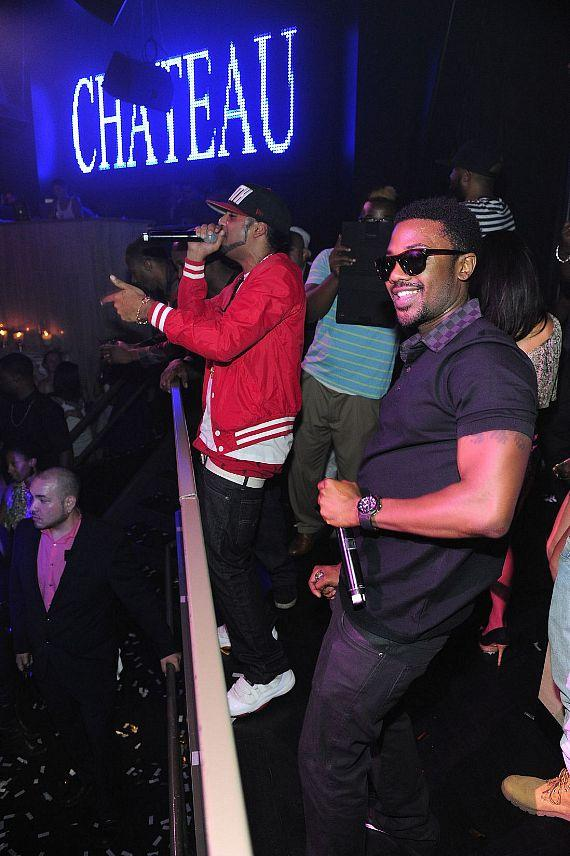 Ray J performs at Chateau Nightclub & Gardens
