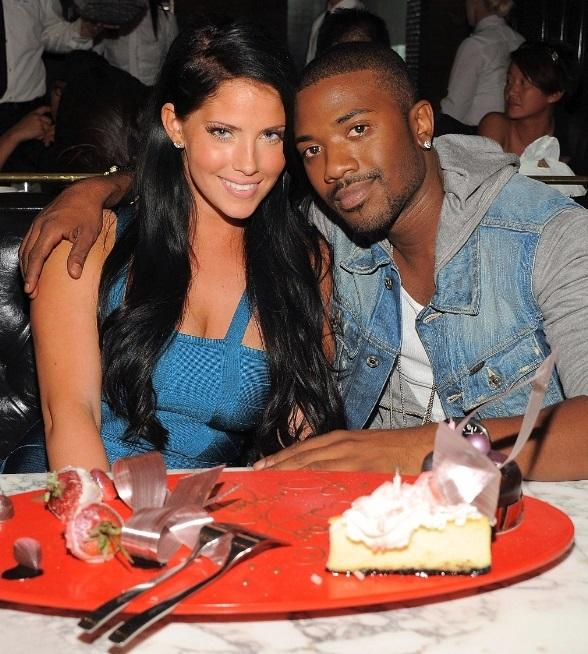 Ray J Dines, Celebrates Sweetie's Birthday at Sugar Factory American Brasserie