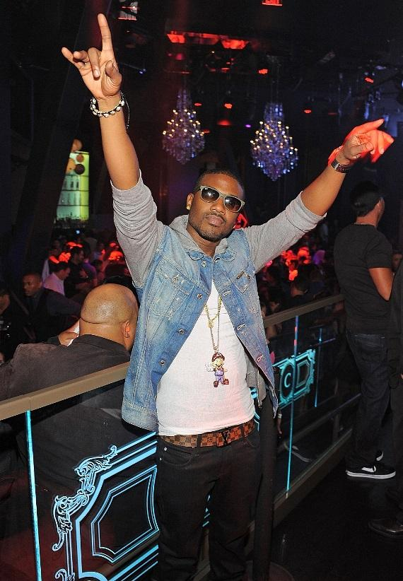 Ray J Performs at Chateau Nightclub & Gardens in Las Vegas