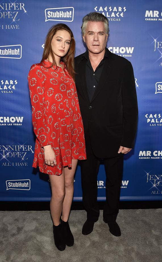 Ray Liotta (R) and his daughter/actress Karsen Liotta