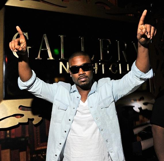 Ray J poses on the red carpet at Gallery Nightclub in Las Vegas
