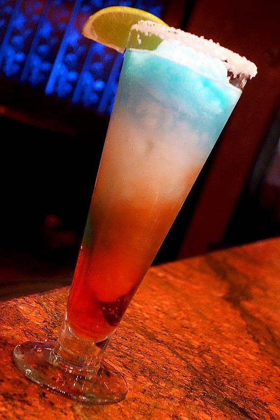 Red White BOOM Cocktail