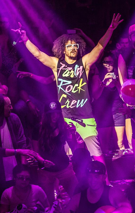 Redfoo & The Party Rock Crew Perform at TAO