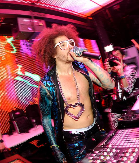 Redfoo at Party Rock Mondays at Marquee Nightclub