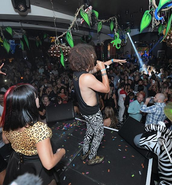 Redfoo delivers electrifying performance at Hyde Bellagio in Las Vegas