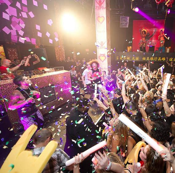 Redfoo performs at TAO