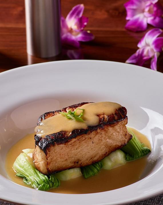 Miso Sea Bass at Redwood Steakhouse