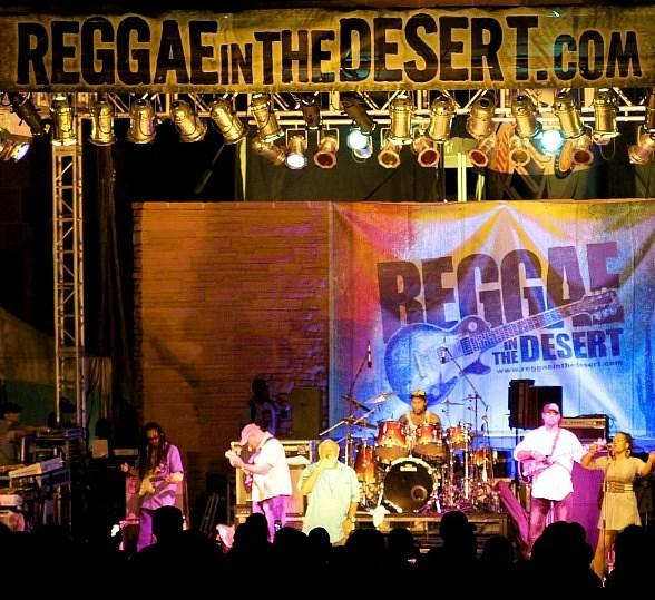 Freddie McGregor performs at Annual Reggae In The Desert