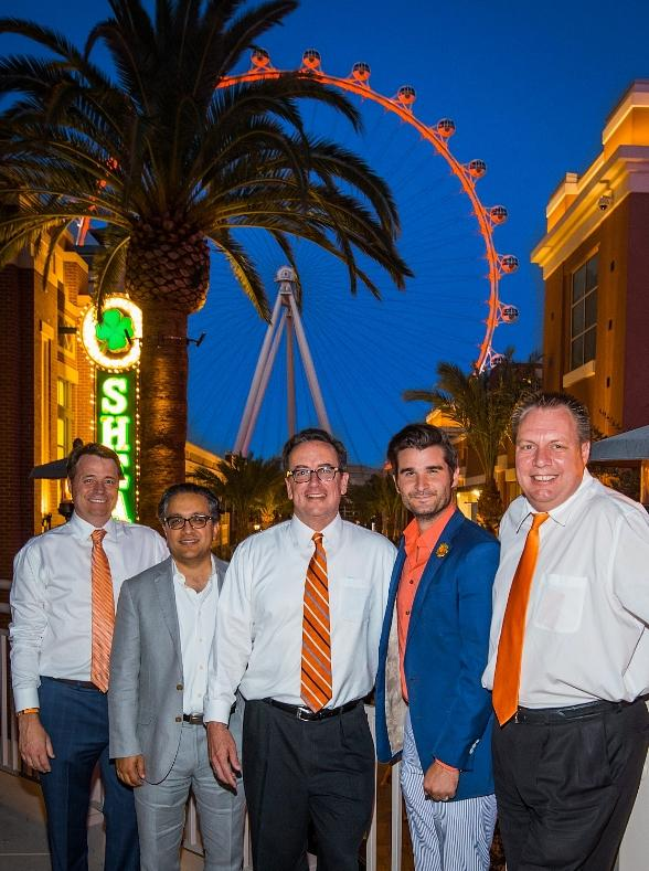 The High Roller at The LINQ Lights Up for 'Go Orange Day' on Thursday, September 4