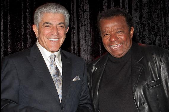 Frank Vincent and Little Anthony (Anthony Gourdine of Little Anthony and The Imperials)