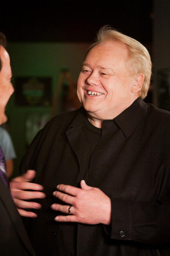 "Louie Anderson on set of Resurrection ""The Wrath of Seduction"""