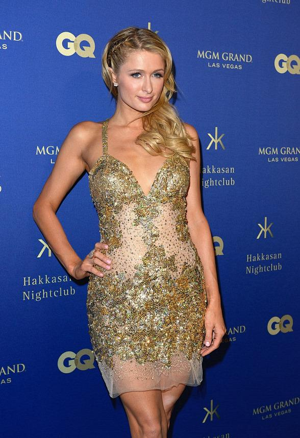 Paris Hilton, Jennifer Lopez, Tiesto, Cheryl Burke, Vanessa Hudgens at GQ Grand Opening Party in Hakkasan Las Vegas