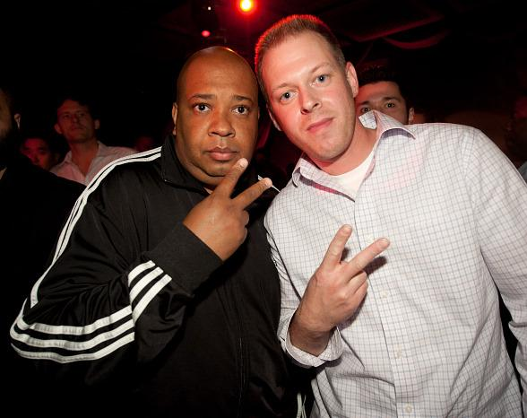 Rev Run and Jamie Stahler