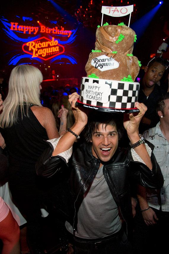 Ricardo Laguna celebrates his Birthday at TAO