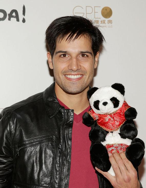 Ricardo Laguna at world premiere of PANDA!