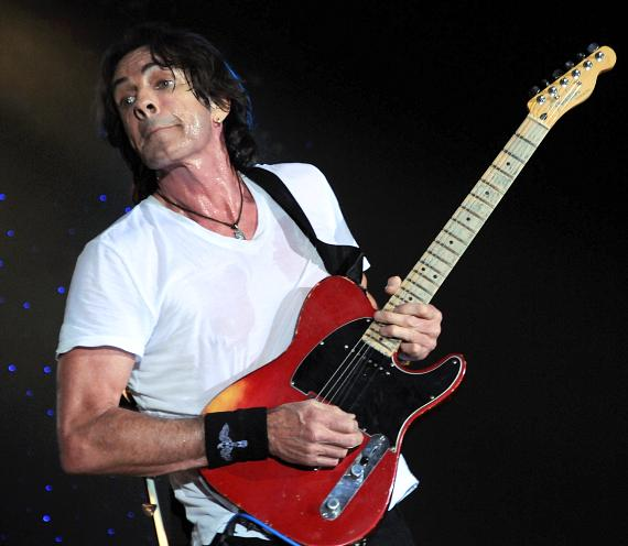 Rick Springfield performs at Eastside Cannery in Las Vegas