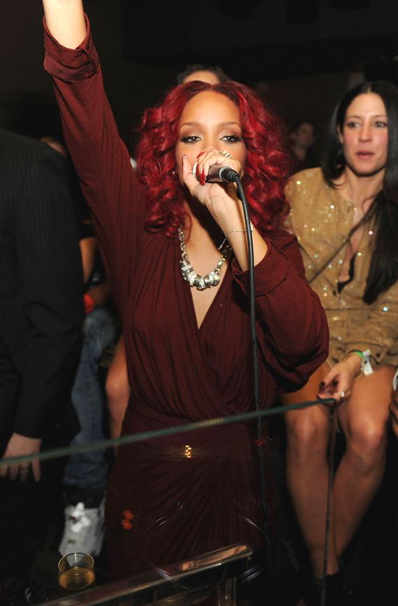 Rihanna at Marquee at The Cosmopolitan of Las Vegas