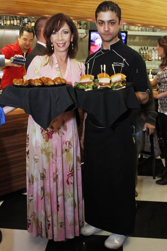Rita and Executive Chef Errol Leblanc
