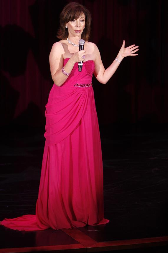 Rita Rudner on stage at The Venetian