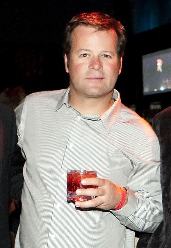 NASCAR driver Robby Gordon at Wasted Space