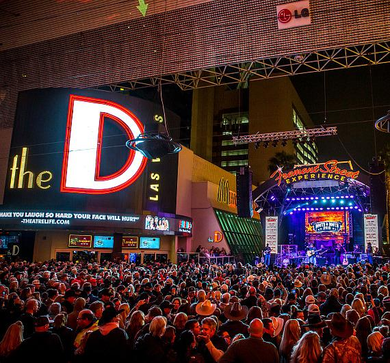Rodeo fans celebrate return of NFR during 32nd Annual Downtown Hoedown at Fremont Street Experience