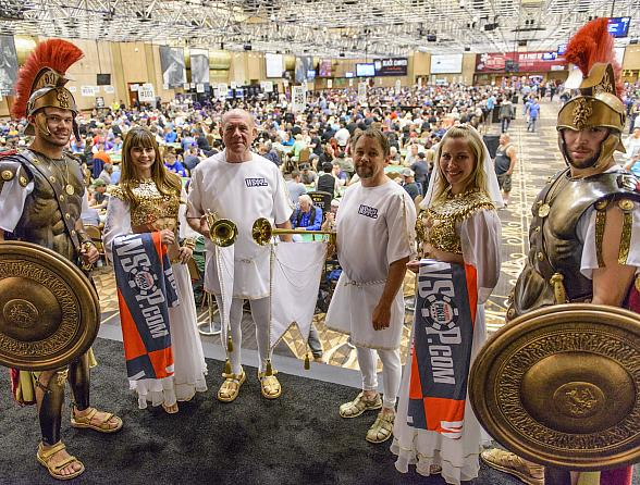 'Colossus' Becomes Largest Live Poker Tournament Ever Held with 22,374 Official Entries - 46th Annual Running of the WSOP off to Record-Breaking Start