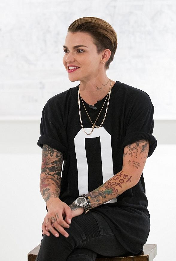 """Orange is the New Black"" Star, Ruby Rose, Pumped Up the Crowd with Live Performance at Temple Nightclub in San Francisco"