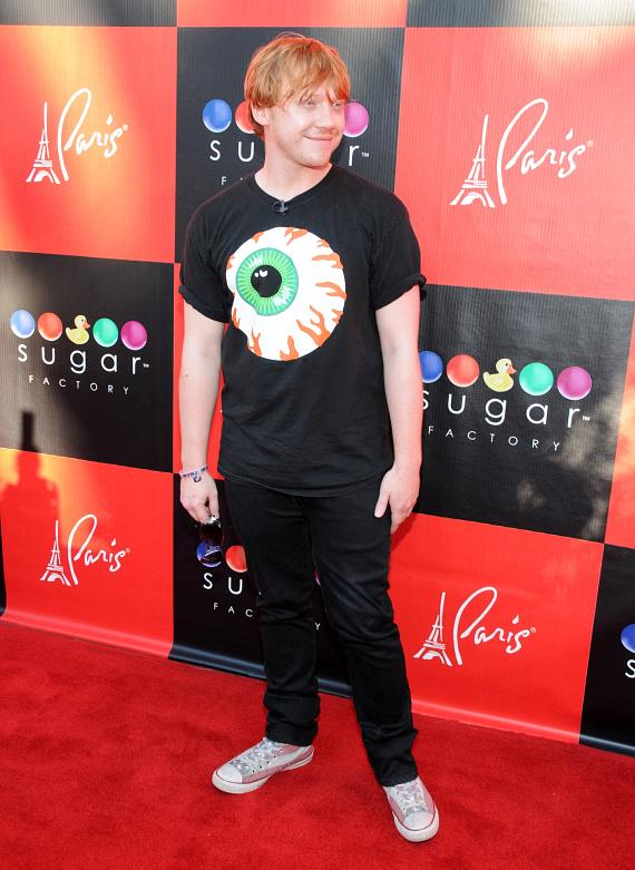 Harry Potter actor Rupert Grint at Sugar Factory