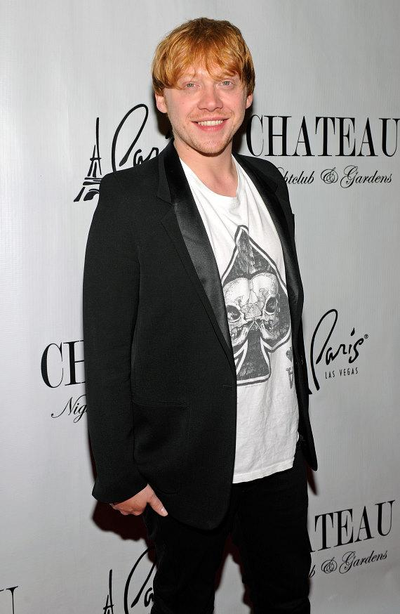 Rupert Grint on the red carpet at Chateau Nightclub and Gardens