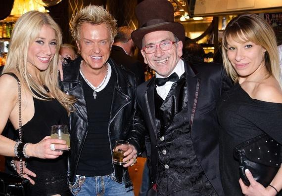 Lydia Ansel, ZowieBowie, Chef Rick Moonen and friend
