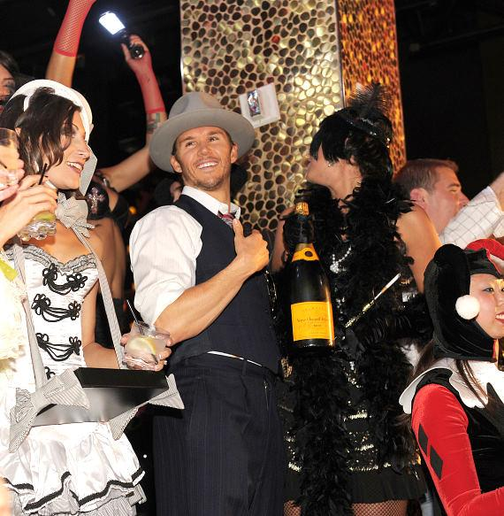 Ryan Kwanten hosts Veuve Clicquot's Yelloween at TAO Las Vegas