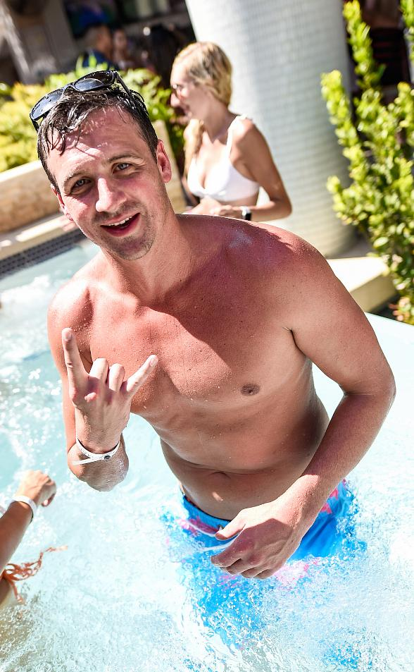 Ryan Lochte at Marquee, Bill Burr at Beauty & Essex, Wiz Khalifa at TAO Saturday