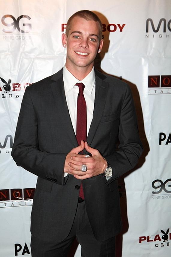 Ryan Sheckler at Moon Nightclub for his 21st birthday