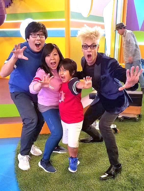 """Murray SawChuck Guests Stars This Week on Nickolodeon's """"Ryan's Mystery Playdate"""""""