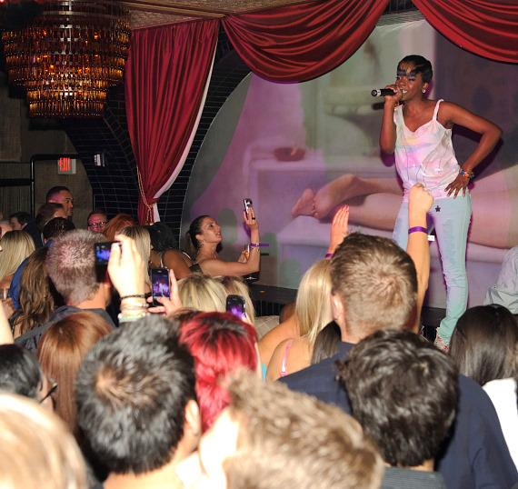Rye Rye performs at LAVO