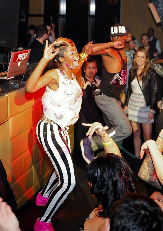 Rye Rye performs for Stereo Saturdays at LAVO
