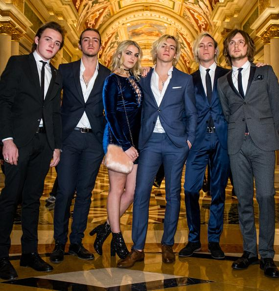 Ryland, Rocky, Rydel, Ross, Riker and Ratliff in The Venetian Grand Colonnade