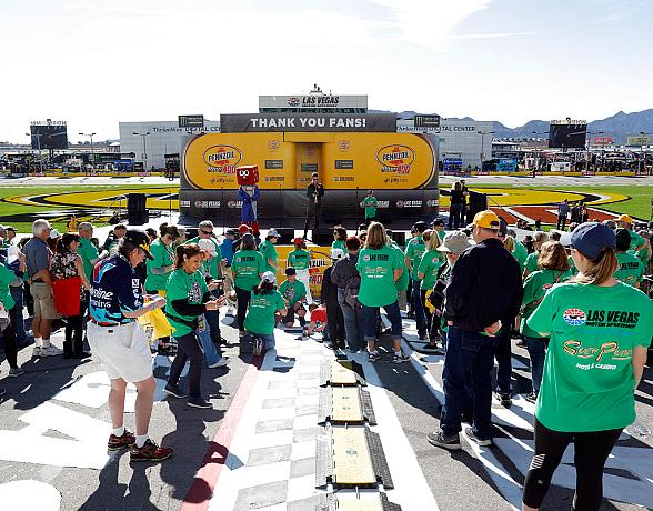 Las Vegas Chapter of Speedway Children's Charities Provides Plenty of Chances to Give Back