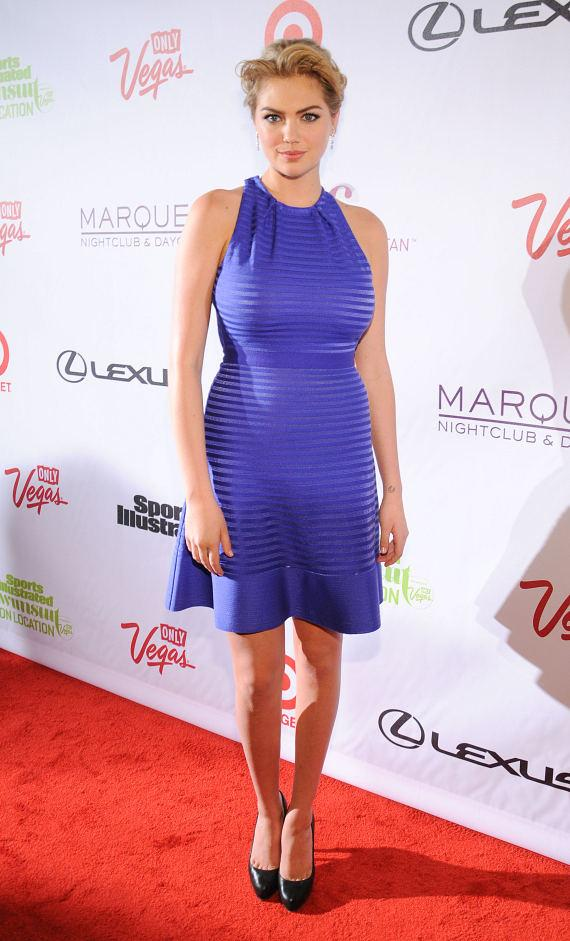 Kate Upton at Marquee Nightclub