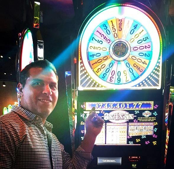 Michigan Man Wins $743,401.77 Playing Wheel of Fortune Slot Machine at SLS Las Vegas