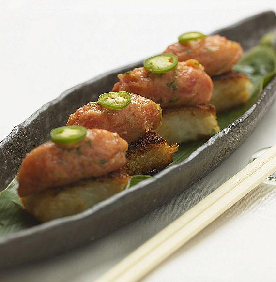 SLS Las Vegas Katsuya Crispy Rice with Spicy Tuna