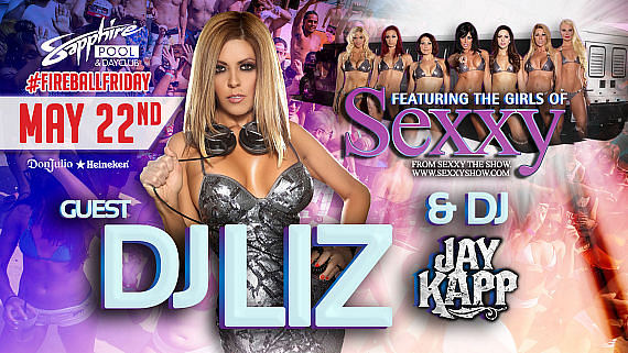 Meet DJ Liz Clark, The Cast of Sexxy the Show and DJ Jay Kapp at Sapphire Pool & Dayclub