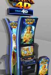 Station Casinos Introduces the Next Dimension of Gaming to Las Vegas with IGT's Sphinx 4D Video Slots