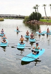 Paddle & Planks SUP Yoga Event at The Westin Lake Las Vegas Resort & Spa July 28